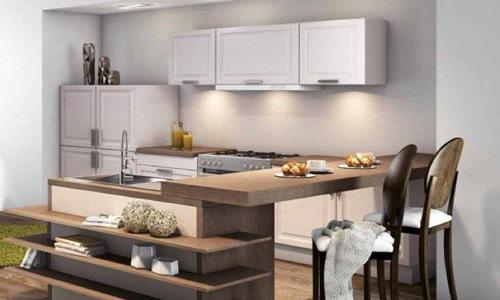 Muebles para cocinas y su distribuci n en el espacio - Distribucion de cocina ...
