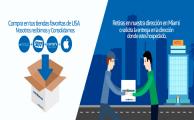 Elige las compras online en Miami desde Uruguay