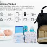 Las mochilas maternales están diseñadas para las mamás del siglo XXI
