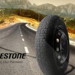 Rueda con los neumáticos Bridgestone en Uruguay
