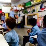 Vuelta a clases de niños en Uruguay